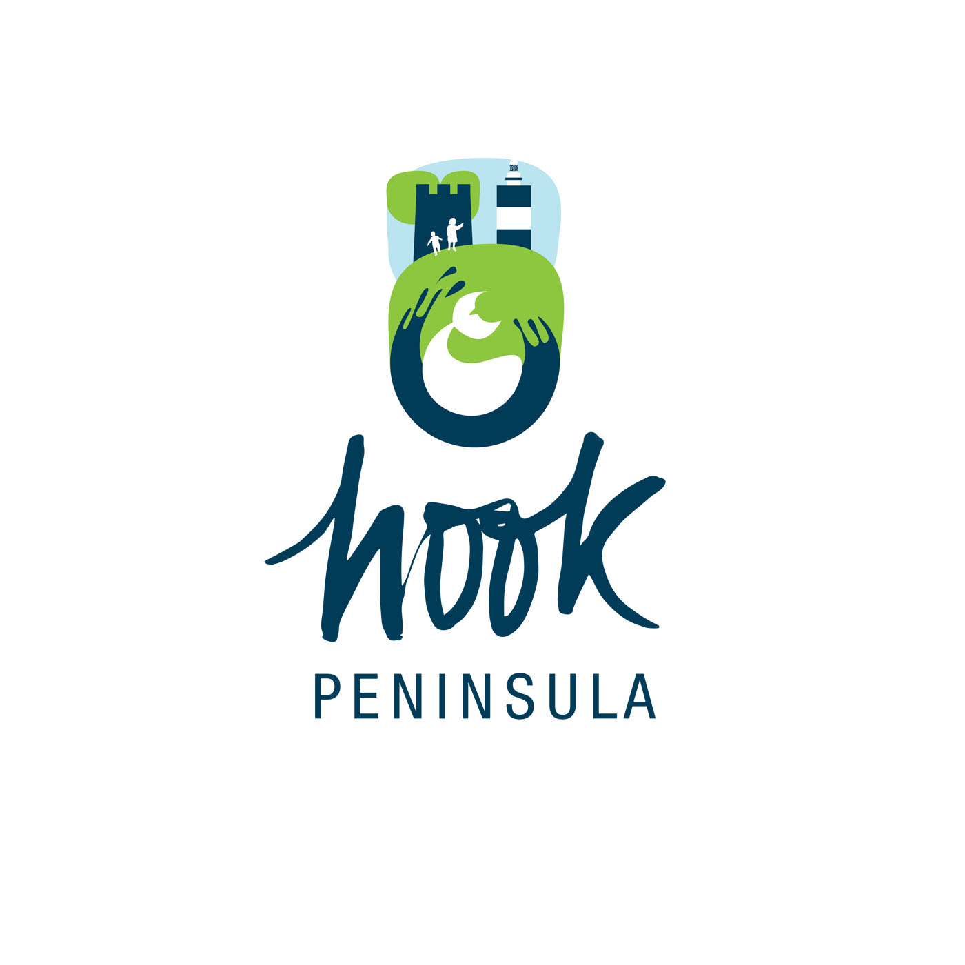 Hook Peninsula : logo design and tourist map